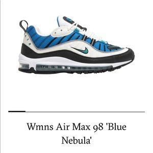 Women's Air Max '98- Blue Nebula